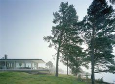 Summer house by Swedish Archipelago.