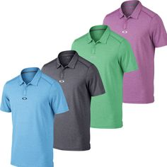 Oakley Roman Polo Golf Shirt Mens Closeout New - Choose Color & Size! - Authorized Oakley Dealer! Closeout Price! #mens #clothing #size #shoes #accessories #apparel #athletic #color #choose #polo #roman #golf #shirt #closeout #oakley