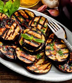 Balsamic Grilled Eggplant on Nutrition Twins Grilling Recipes, Vegetable Recipes, Vegetarian Recipes, Cooking Recipes, Healthy Recipes, Cooking Gadgets, Grilling Ideas, Healthy Grilling, Delicious Recipes