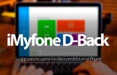 ¿Recuperar datos perdidos en iPhone? Prueba iMyfone D-Back http://blgs.co/um7j7r