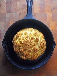 Whole Roasted Cauliflower - Nom Nom Paleo® - Whole roasted cauliflower is a delicious, vegan dish. It's also budget-friendly, - Paleo Recipes, Real Food Recipes, Cooking Recipes, Skillet Recipes, What's Cooking, Paleo Whole 30, Whole 30 Recipes, Paleo Vegetables, Veggies
