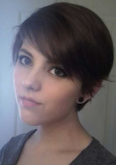 Nice Simple Short Hairstyle