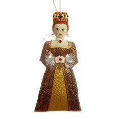Young Elizabeth I Christmas Tree Decoration