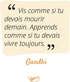Paroles de sages sur Bloomr #Apprentissage, #Attitude, #Audace, #Citations, #Gandhi Gandhi, Miracle Morning Affirmations, My Life, Encouragement, Messages, Education, Recherche Google, Bullet, Facebook