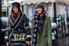 Street look à la Fashion Week automne-hiver 2016-2017 de Milan  Photos par Sandra Semburg