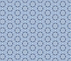 Moroccan Blue fabric by hollywood_royalty on Spoonflower - custom fabric