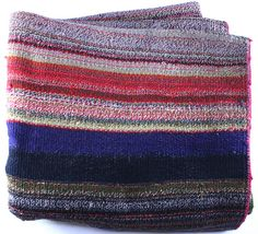 Father's Day gift ideas: vintage Bolivian rug/throw $325 at Loopy Mango - SoHo Boutique - 78 Grand St., New York - Product