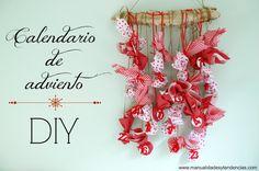 Calendario de adviento de tela / Fabric advent calendar