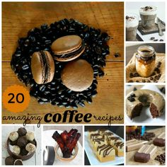 20 Amazing Coffee Recipes at ShashersLife.com