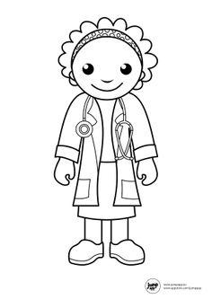 Preschoolcoloringbook Doctor Amp Hospital Coloring