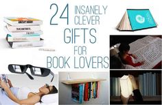 24 Insanely Clever Gifts For Book Lovers. I need the personal library kit and the library stamp...