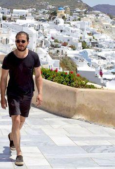 Kit Harington -  Santorini, Greece  May 2017