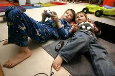 Image result for Kids playing video games