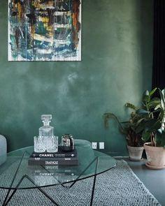 """KABE Copenhagen på Instagram: """"The shade of Dark Emerald styled by @mayastoltzewestander. #kabecopenhagen #kabedarkemerald #darkemerald"""""""