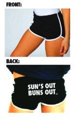 Buns Out Shorts