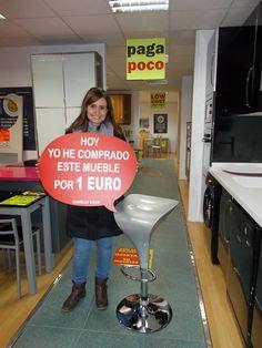 From Muebles BOOM · Ayer Cristina R. L. Se Compró POR SOLO 1 EURO Este #  TABURETE En