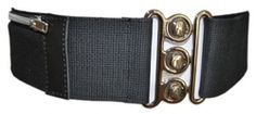 Stretchy school belt with little zipped pocket to keep your dinner ticket in
