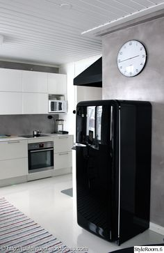 k hlschrank smeg mintgr n k che living pinterest. Black Bedroom Furniture Sets. Home Design Ideas