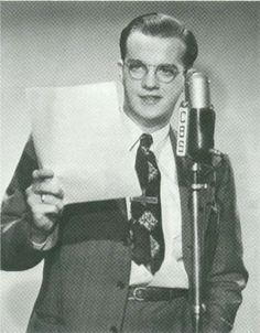 1920s radio announcer | As Bill became more experienced and talented in radio, he decided to ...