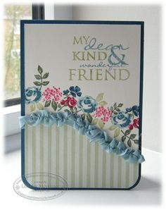 baby blossoms & occasional greetings stampin up