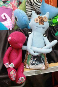 zwierzaki handmade z wełny