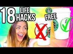 13 Weird Life Hacks EVERYONE Needs To Know | Nichole Jacklyne - YouTube