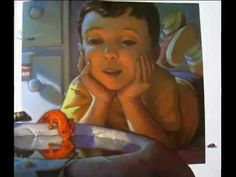 Together, parent and child read The Salamander Room by Anne Mazer.