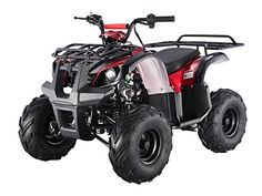 Type-X Utility 4 Stroke Fully Auto ATV - Air Cooled 4 stroke-Honda Clone Engine By SaferWholesale Carb Approved for California Tire Front & Rear : Suspension Suspension Rear(inch): 11 Overall Size(inch): Seat Height(inch): Ground Clearance(inch): Kids 4 Wheelers, Kids Atv, Youth Atv, Honda, Pergola, Sand Rail, Go Kart, Big Men, 110cc Dirt Bike