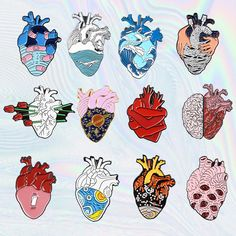 Buy Anatomical Heart Aesthetic Enamel Pins Brooch with a discount. Shop for Aesthetic Clothing & Accessories, eGirl Outfits, Soft Girl Apparel, Grunge & Vintage clothes, Artsy / Art Hoe Stuff Aesthetic Drawing, Aesthetic Grunge, Anatomical Heart Drawing, Human Heart Drawing, Cool Pins, Metal Pins, Pin And Patches, Heart Art, Easy Drawings