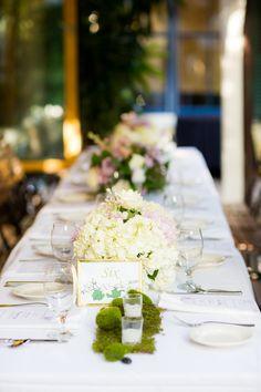 Elegant Garden Lavender and White Wedding via TheELD.com | Liz & Lex Events