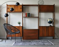 Image result for mid century room dividers