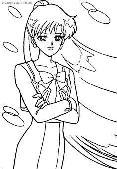 Sailor Moon color page