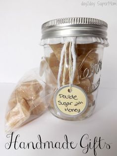 double sugar scrub cubes with honey, crafts