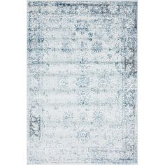 Found it at AllModern - Ford Light Blue Area Rug