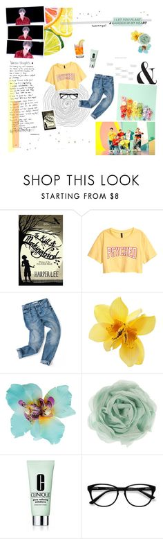 """""""make you fall in love like my name's frank ocean"""" by taeangel ❤ liked on Polyvore featuring H&M, Dorothy Perkins, Zara, Clinique and EyeBuyDirect.com"""