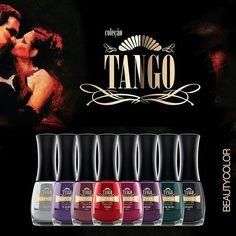 Nova coleção da @beautycoloroficial chamada Tango