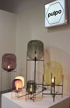 De Oda lamp is ontworpen door Sebastian Herkner en