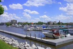 Riverfront ~ Bay City, Michigan
