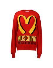Long Sleeve Jumper Women - Moschino - #jeremyscott is #genius