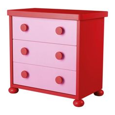 IKEA chest.  Wish I could do all new rooms for the kids in this Dr. Suess style!