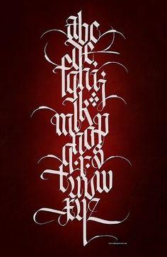 Steveczajka.posterous.com Where Calligraphy and Digital Arts Meet!