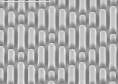 The new Neoterix ST paper is not intended to be used as a final product, but instead allows manufacturers of devices to create surfaces with a Sharklet bacteria inhibiting micropattern. The paper is used like a mold for fabrics and laminates and is removed to reveal the final product.
