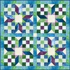 Red Rooster Quilts: Shop | Category: Patterns | Product: Stellar Beauty Quilt Pattern -- I really like this pattern..