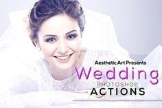 Aesthetic Wedding Photoshop Actions by Aesthetic Art & Design on Creative Market