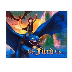 How to Train Your Dragon Birthday Party Ideas & Supplies. party invitations