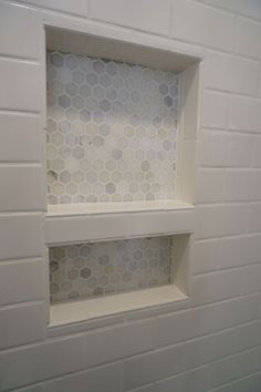 Tile Shower Shelf Ideas Elegant Bathroom How to Build Recessed Shower Shelf for Your Bathrooms — Playkidsstore Tile Shower Shelf, Recessed Shower Shelf, Bathroom Niche, Bath Tiles, Bathroom Windows, Room Tiles, Attic Bathroom, Small Bathroom, Master Bathroom