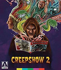 Creepshow 2 - Blu-Ray Region 1 for sale online Horror Movie Posters, Horror Movies, Zombie Movies, Horror Icons, Tom Savini, Stephen King Movies, Blu Ray Movies, Famous Monsters, Movie Covers