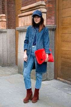 62 Fabulous Street Style Looks From London Fashion Week
