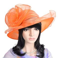 db2cc564 Lady Kentucky Derby Church Dressy Floral Bowler Hat S061 Review
