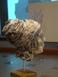 "Saatchi Art Artist: Dimosthenis Prodromou; Mixed Media 2009 Sculpture ""Niki"""